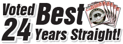 Voted Best Stock Software under $500, 21 years straight!