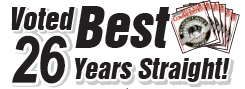 Voted Best Stock Software under $500, 25 years straight!